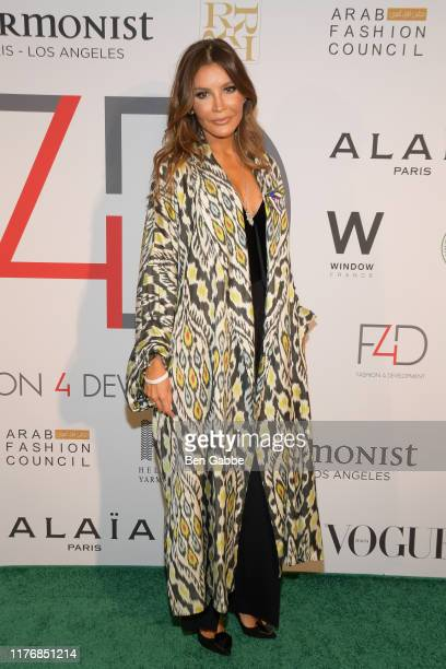 Lola KarimovaTillyaeva attends Fashion 4 Development's 9th Annual Official First Ladies Luncheon at The Pierre Hotel on September 24 2019 in New York...