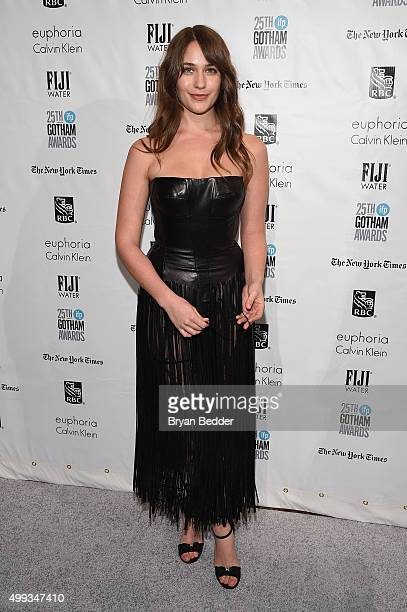 Lola Kirke attends the 25th IFP Gotham Independent Film Awards cosponsored by FIJI Water on November 30 2015 in New York City