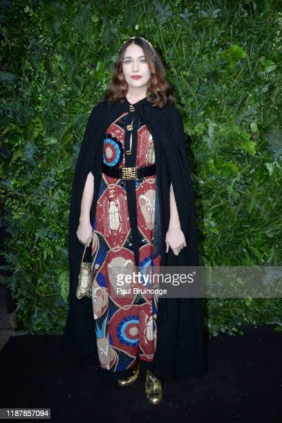 Lola Kirke attends the Chanel Party to celebrate the debut Of No. 5 In The Snow on December 10, 2019 at The Standard, High Line in New York City.