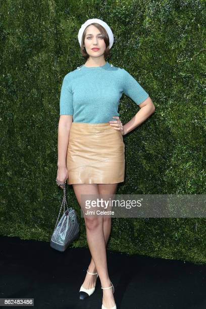 Lola Kirke attends Through Her Lens The Tribeca Chanel Women's Filmmaker Program Luncheon at Locanda Verde on October 17 2017 in New York City