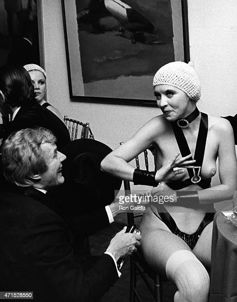 Lola Lane attends Nicola Simbari Opening on November 4 1976 at the Wally Finley Gallery in New York City