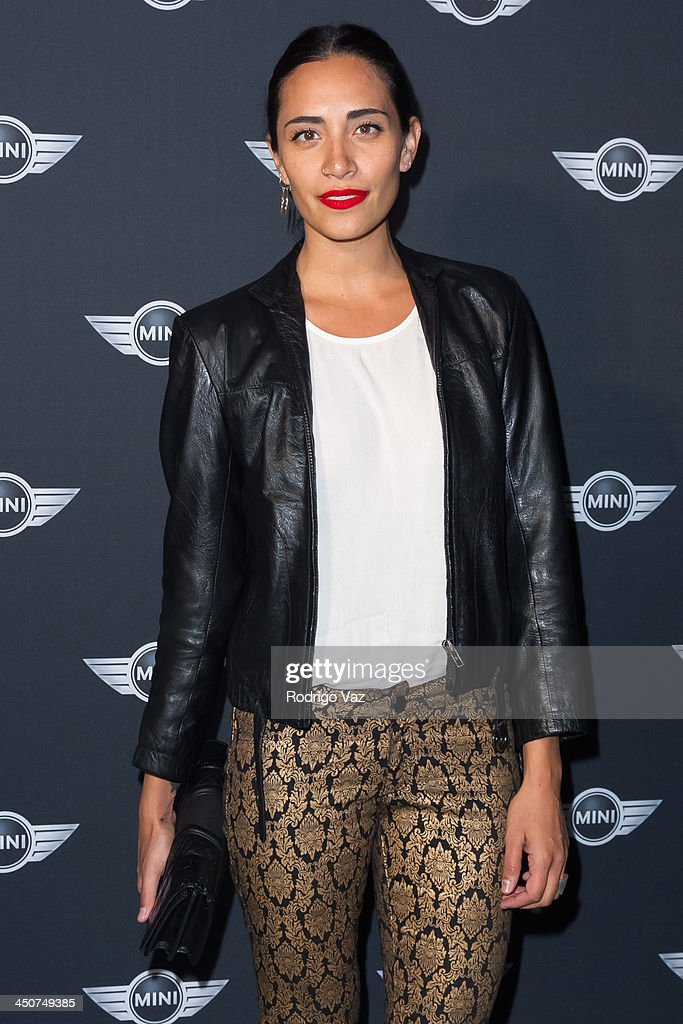 DJ Lola Langusta attends as MINI Cooper unveils newest addition to the MINI fleet during Los Angeles Auto Show at Kim Sing Theatre on November 19, 2013 in Los Angeles, California.