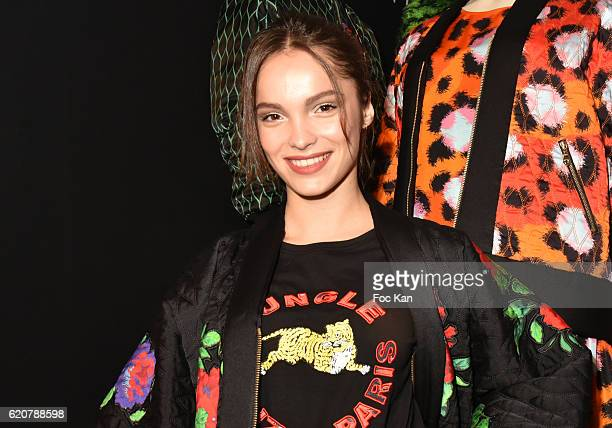 Lola le Lann attends KENZO x HM Paris Launch Party at Hotel De Brossier on November on November 2 2016 in Paris France