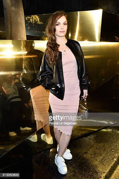Lola Le Lann attends the H&M show as part of the Paris Fashion Week Womenswear Fall/Winter 2016/2017 on March 2, 2016 in Paris, France.