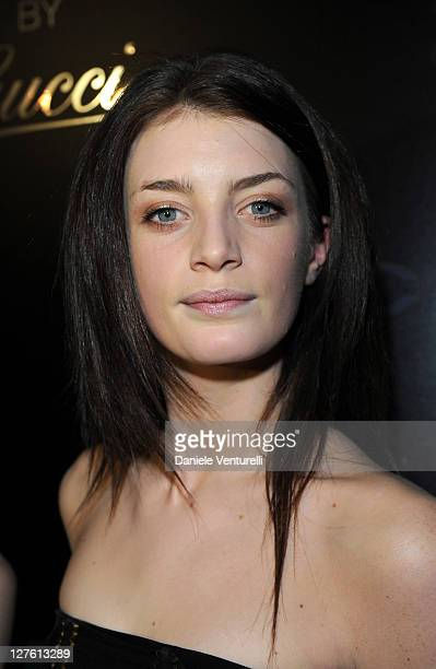 Lola Lennox attend the 500 by Gucci launch party during the Milan fashion week womenswear Autumn/Winter 2011 on February 23 2011 in Milan Italy