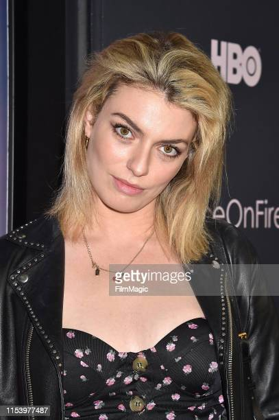 Lola Lennox attends the Los Angeles premiere of Ice on Fire from HBO on June 05 2019 in Los Angeles California