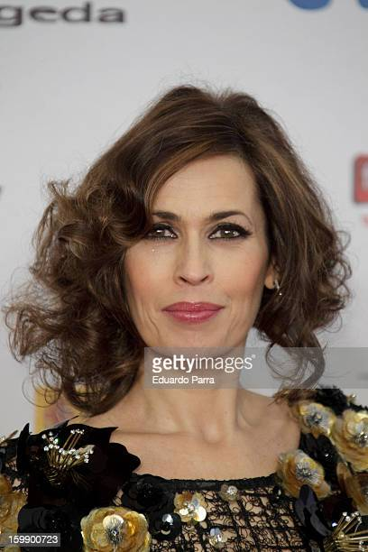 Lola Marceli attends Jose Maria Forque awards photocall at Canal theatre on January 22 2013 in Madrid Spain