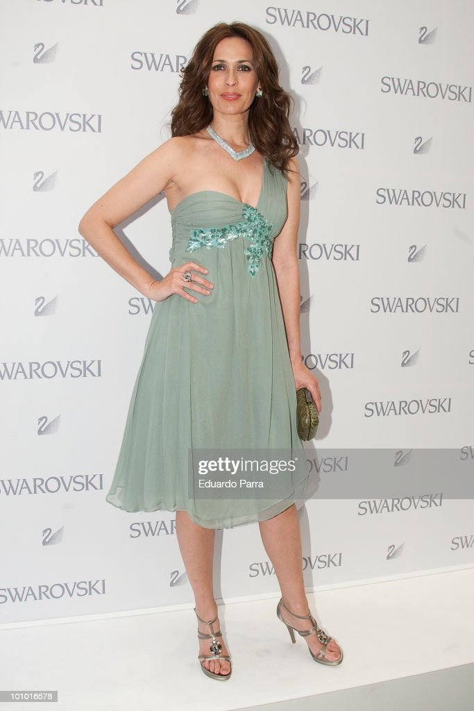 Lola Marceli attends Swarovski new boutique opening photocall at Swarovski boutique Gran Via 39 on May 27, 2010 in Madrid, Spain.