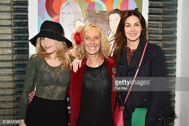Lola Marois Valeria Attinelli and Helena NoguerraÊ attend ÇÊGainsbourg IntimeÊÈ by photographer Odile Montserrat and her daughter writer Valeria...
