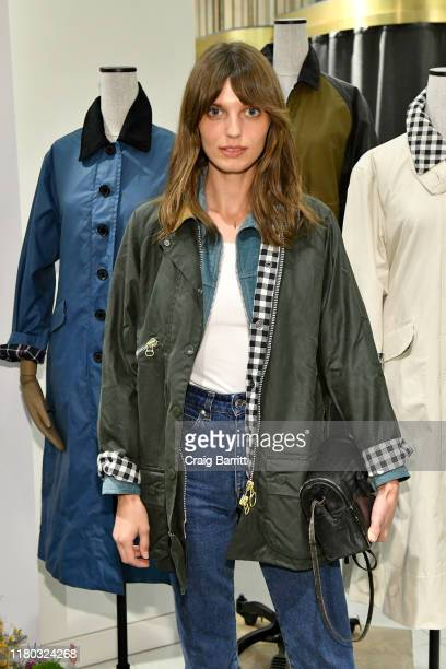 Lola McDonnell attends the Barbour By ALEXACHUNG Fall 2019 Collection Celebration at Nordstrom on October 10 2019 in New York City