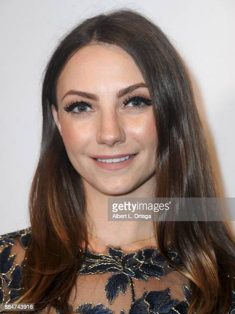 Lola Miche arrives for the TJ Scott Book Launch For 'In The Tub Volume 2' held at Cinematic Pictures Group Gallery on December 2 2017 in Hollywood...