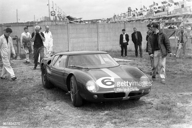 Lola Mk 6 GT Ford 24 Hours of Le Mans Le Mans 16 June 1963 The Eric Broadley designed Lola Mk 6 GT Ford which would give birth to the famous Ford GT40