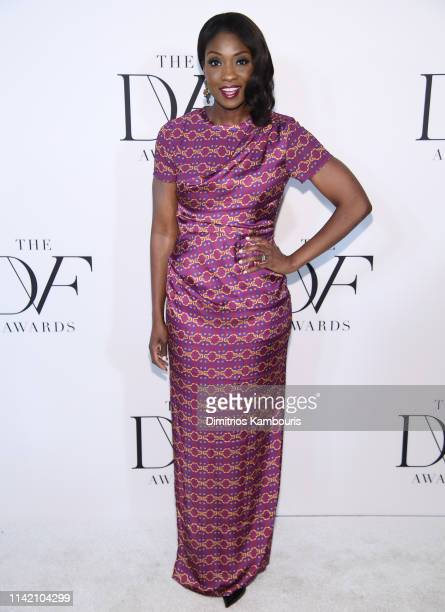 Lola Ogunnaike attends 10th Annual DVF Awards at Brooklyn Museum on April 11 2019 in New York City