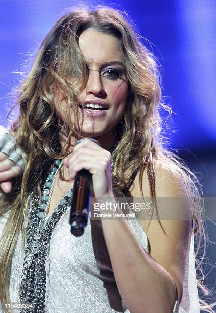 Lola Ponce performs at the World Music Awards 2008 at the Monte Carlo Sporting Club on November 9, 2008 in Monte Carlo, Monaco.