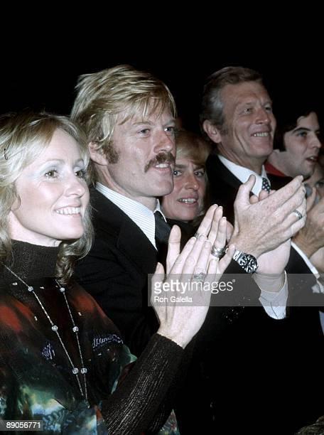 Lola Redford and Robert Redford