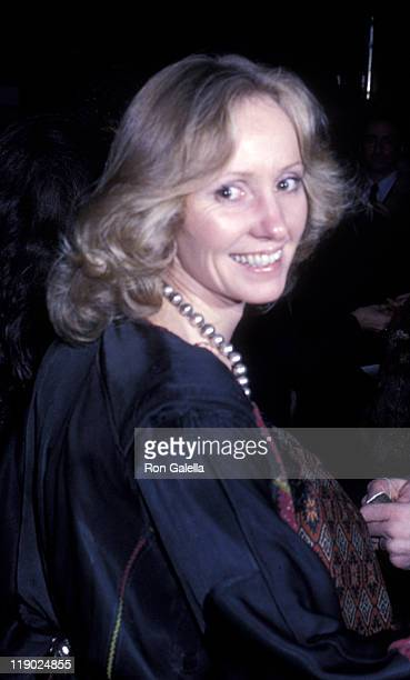 Lola Redford attends the premiere of The Turning Point on November 14 1977 at the Coronet Theater in New York City