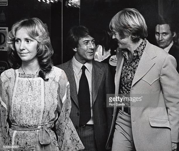 Lola Redford Dustin Hoffman Robert Redford and Bob Woodward