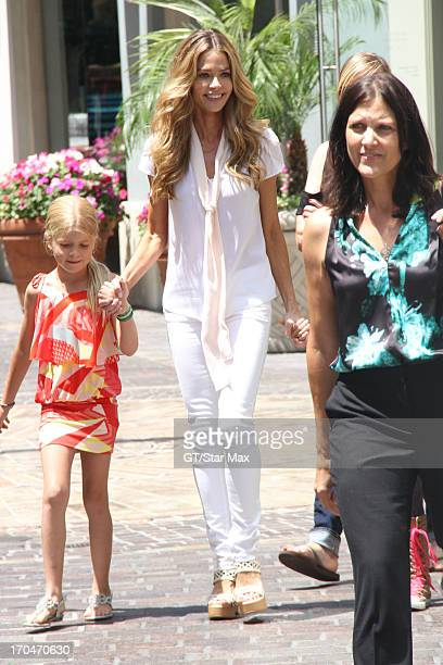 Lola Rose Sheen and Denise Richards as seen on June 13 2013 in Los Angeles California