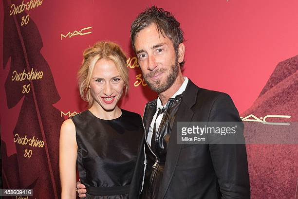 Lola Rykiel and Indochine owner Jean Marc Houmard attend Indochine's 30th Anniversary Party at Indochine on November 7, 2014 in New York City.
