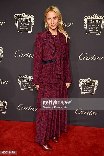 Lola Rykiel attends the Cartier Fifth Avenue Grand Reopening Event at the Cartier Mansion on September 7 2016 in New York City