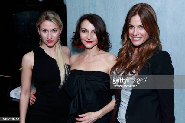 Lola Rykiel Nathalie Rykiel and Kelly Killoren Bensimon attend SONIA RYKIEL POUR HM Exclusive Preview at Bobo on February 4 2010 in New York City