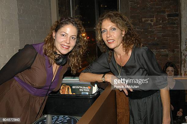 Lola Schnabel and Jacqueline Schnabel attend MULBERRY Launch Party at 5 Ninth on November 29 2006 in New York City