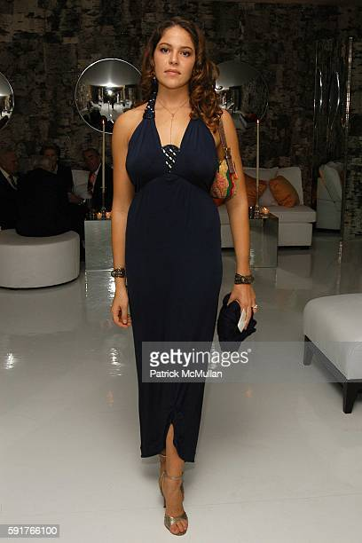 Lola Schnabel attends FENDI Dinner for The American Academy in Rome at Private Residence on November 3 2005 in New York City