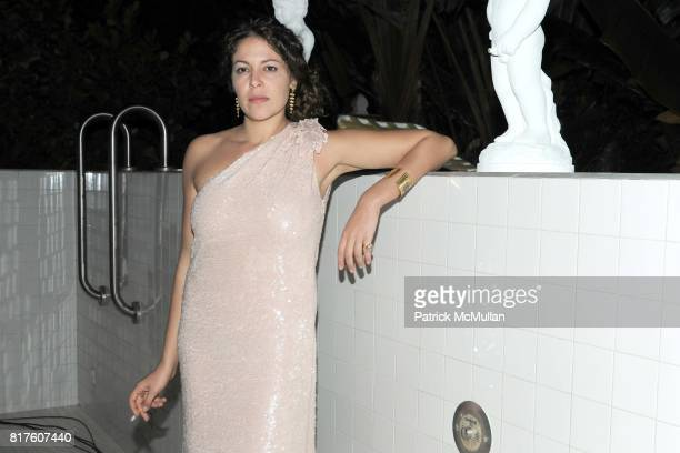 Lola Schnabel attends Playboy presents the NUDE IS MUSE An Art Salon for Art Basel Miami 2010 at The Standard Hotel on December 4 2010 in Miami...