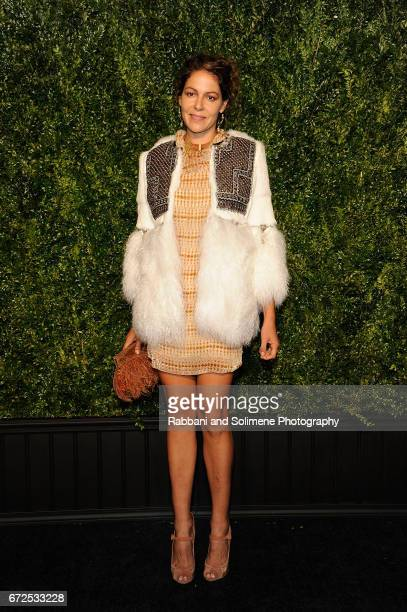 Lola Schnabel attends the 2017 Tribeca Film Festival Chanel Artists Dinner on April 24 2017 in New York City