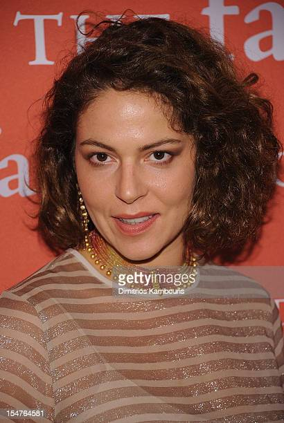 Lola Schnabel attends the 29th Annual Fashion Group International Night Of Stars at Cipriani Wall Street on October 25 2012 in New York City