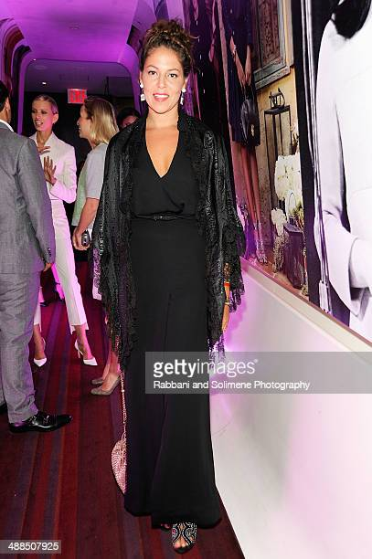 Lola Schnabel attends the Ferragamo dinner celebrating the launch of the Fiamma Handbag and Film Series at Casa Lever on May 6 2014 in New York City