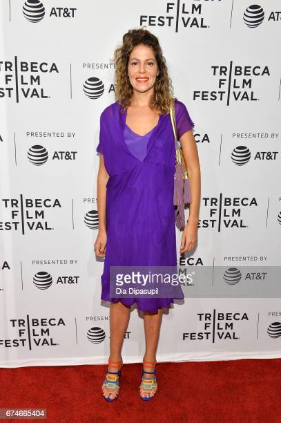 Lola Schnabel attends the 'Julian Schnabel A Private Portrait' premiere during the 2017 Tribeca Film Festival at SVA Theater on April 28 2017 in New...