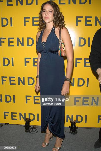 Lola Schnabel during Fendi Flagship Store Opening and Announcement of The Fendi Rome Prize Fellowship at The American Academy in Rome at Fendi...