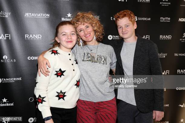 Lola Wayne Villa Amber Sealey and Alex Rubin attend Tangerine Entertainment's Reception for How Does it Start Hosted At The RAND Luxury Escape at St...