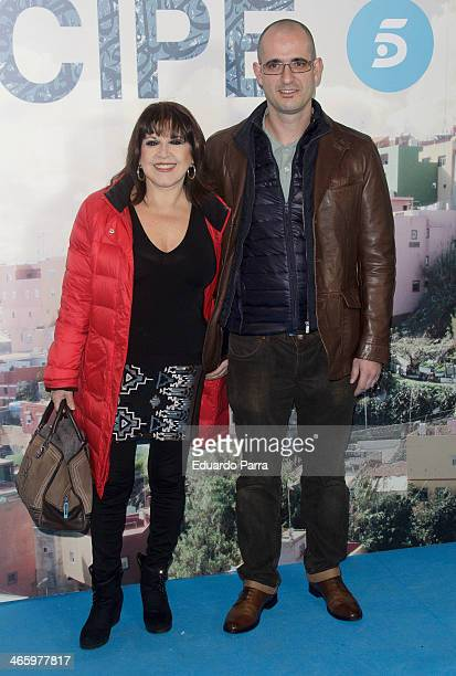 Loles Leon attends 'El principe' premiere at Callao cinema on January 30 2014 in Madrid Spain