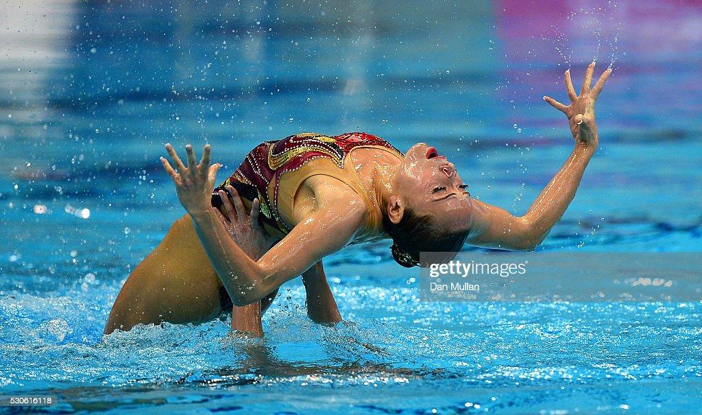 33rd LEN European Swimming Championships 2016 - Day 3