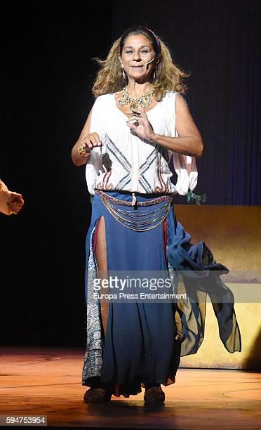 Lolita attend the presentation of 'La asamblea de las mujeres' at La Latina theatre on August 23 2016 in Madrid Spain