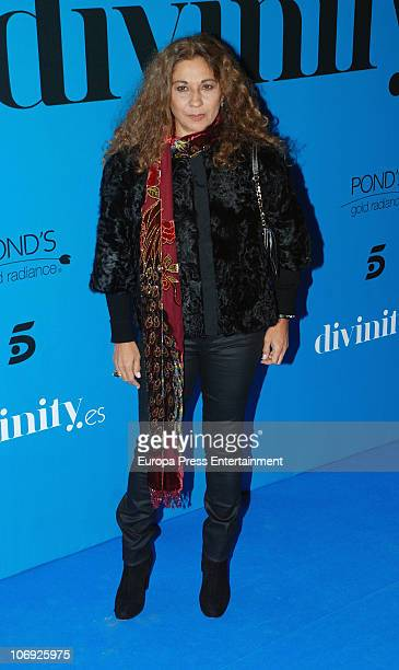 Lolita attends 'Divinity' Party held by Telecinco Tv Channel at Ramses on November 16 2010 in Madrid Spain