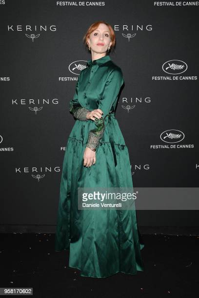 Lolita Chammah attends the Women in Motion Awards Dinner presented by Kering and the 71th Cannes Film Festival at Place de la Castre on May 13 2018...