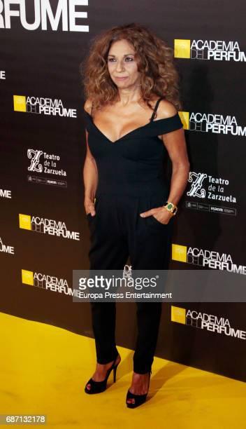 Lolita Flores attends 'Academia del Perfume' awards 2017 at Teatro de la Zarzuela on May 22 2017 in Madrid Spain