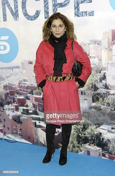 Lolita Flores attends 'El principe' premiere at Callao cinema