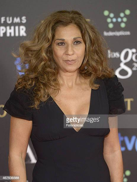 Lolita Flores attends Goya Cinema Awards 2015 at Centro de Congresos Principe Felipe on February 7 2015 in Madrid Spain