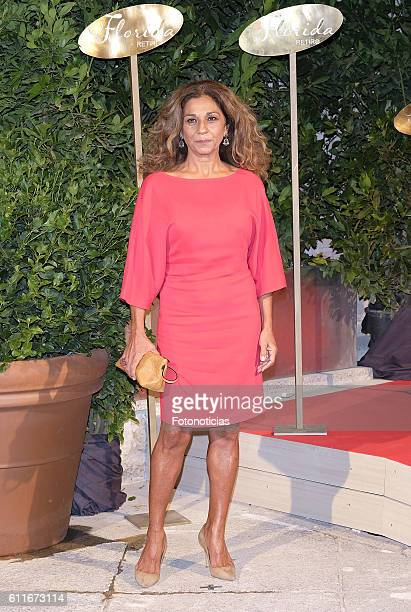 Lolita Flores attends the Florida Retiro opening night on September 30 2016 in Madrid Spain