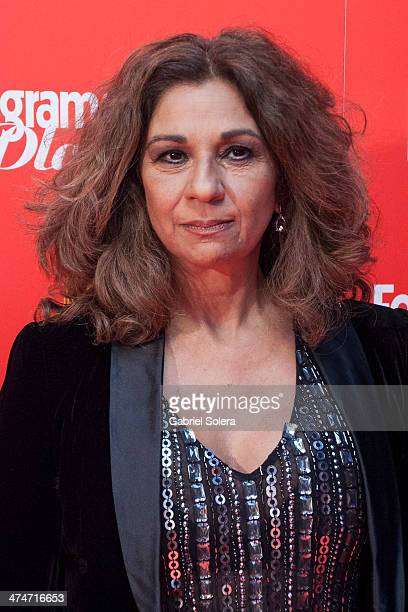 Lolita Flores attends the 'Fotogramas Awards' 2013 at Joy Slava on February 24 2014 in Madrid Spain