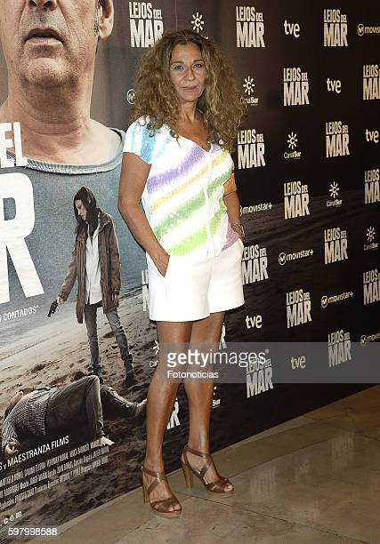 Lolita Flores attends the 'Lejos del Mar' premiere at Palafox cinema on August 30 2016 in Madrid Spain