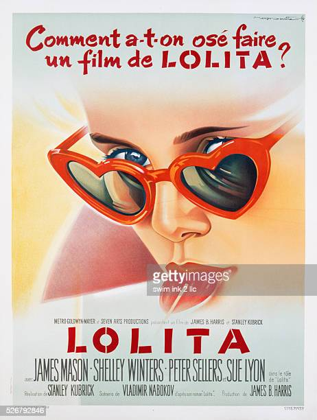 Lolita Movie Poster By Roger Soubie