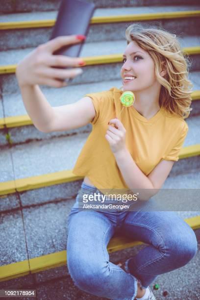 Lollipop Selfie