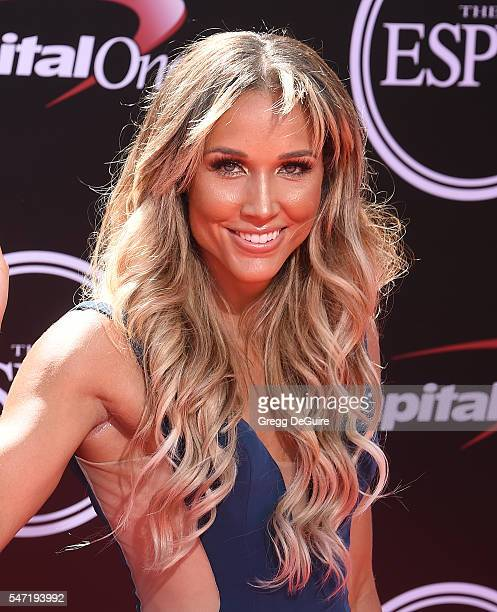 Lolo Jones arrives at The 2016 ESPYS at Microsoft Theater on July 13 2016 in Los Angeles California