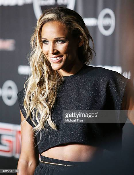 Lolo Jones arrives at the BODY at ESPYS PreParty held at Lure on July 15 2014 in Hollywood California
