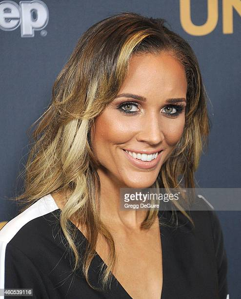Lolo Jones arrives at the Los Angeles premiere of 'Unbroken' at The Dolby Theatre on December 15 2014 in Hollywood California